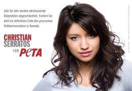 Christian Serratos posiert für die PETA-Serie...dquo;