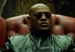 Laurence Fishburne in 'The Matrix: Reloaded'