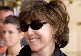 Regisseurin und Drehbuchautorin NORA EPHRON (r.) mit...ULIA.