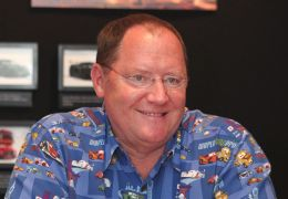 John Lasseter at the 'Cars 2' global press junket on...alif.