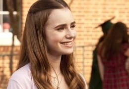 Lily Collins in 'The Blind Side'