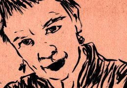 Heart of a Dog - Laurie Anderson, gezeichnet