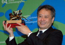 Jury-Vorsitzender Ang Lee, der 2007 selbst mit einem...wurde