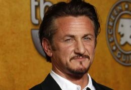 Sean Penn in the Press Room at the TNT/TBS broadcast...geles