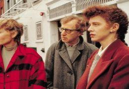Mia Farrow, Woody Allen und Judy Davis in 'Ehemänner...auen'