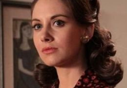Alison Brie in 'Mad Men'