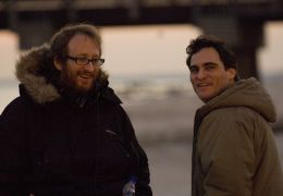 Two Lovers - Regisseur James Gray und Joaquin Phoenix...trand
